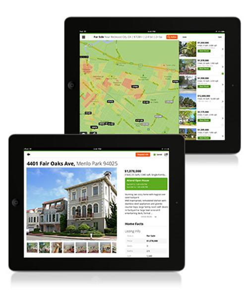 Фрагмент программы Real Estate & Homes by Trulia