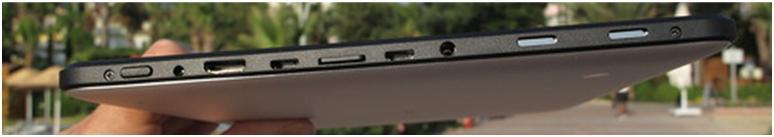 Боковая грань планшета