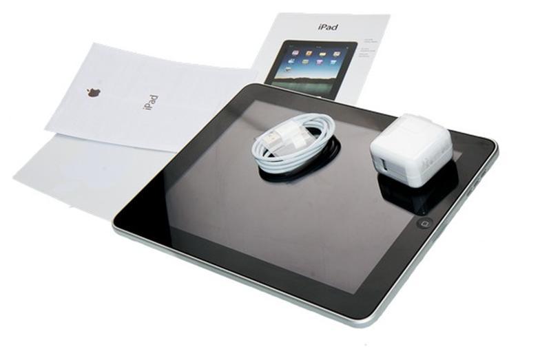 Комплектация поставки планшета