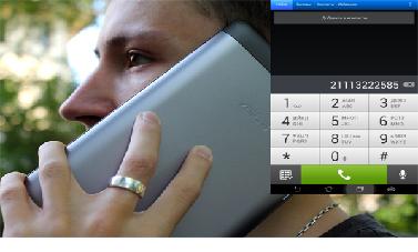 Планшет как телефон