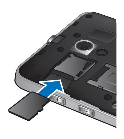Вставить в слот microSD-карты