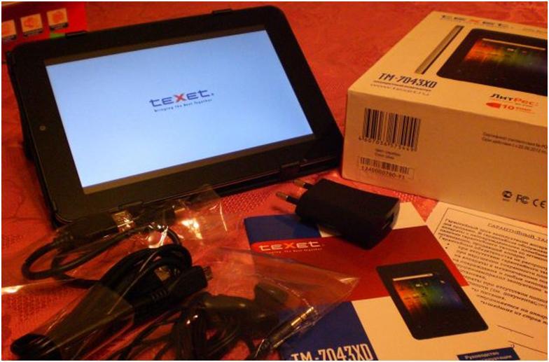 Что входит в упаковку к планшету