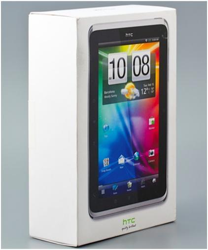 Планшет HTC Flyer в коробке