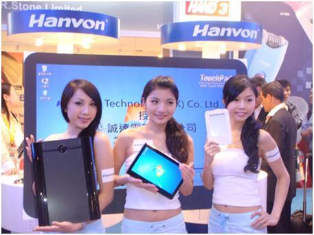 Разные модели планшетов