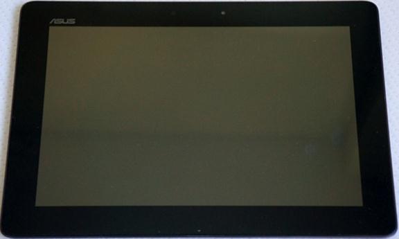 Вид планшета спереди