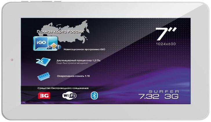 Девайс с  3G-модулем и iGO primo