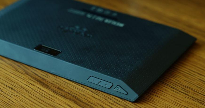 Верхняя панель планшета
