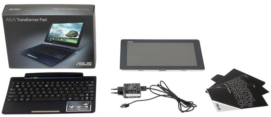 Зарядное устройство, USB-кабель, документация