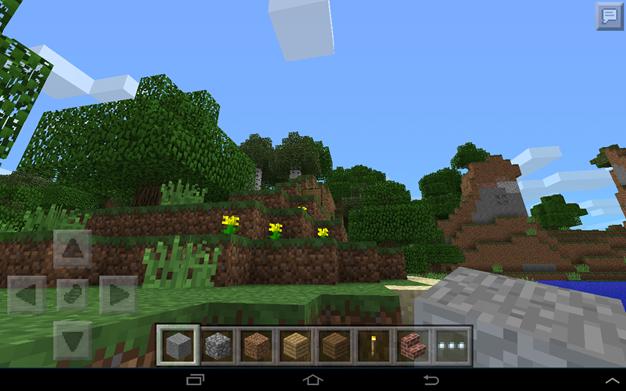Окно игры «Minecraft»