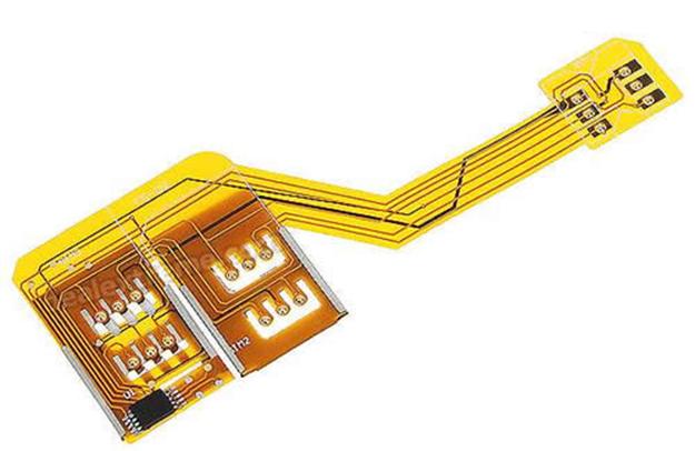Адаптер на две СИМ-карты