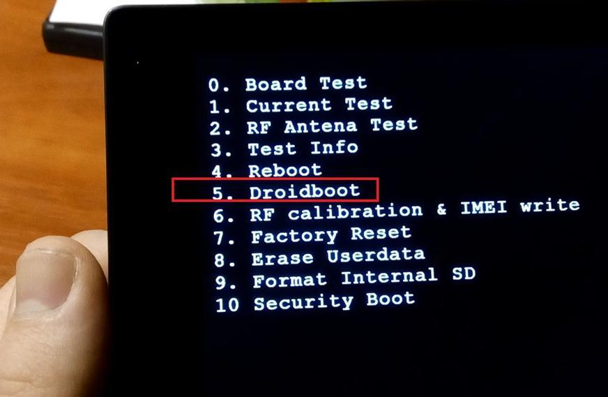 Droidboot