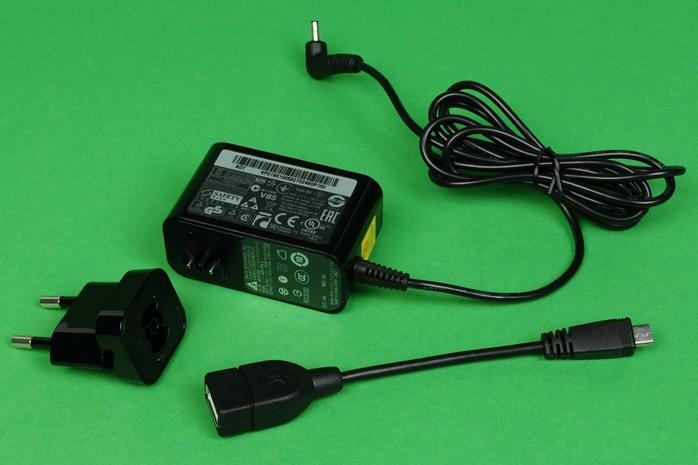 Зарядка и кабель