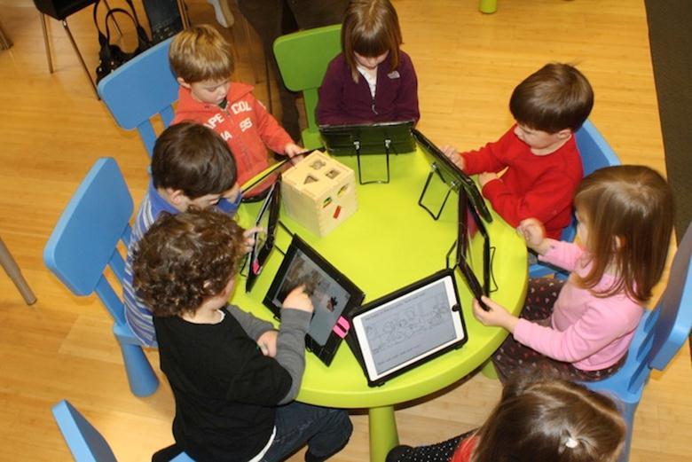 Развивающие занятия с помощью планшетов